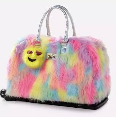 """Justice Shaggy DUFFLE Rolling  LUGGAGE """"LIGHT UP WHEELS"""" last one!"""