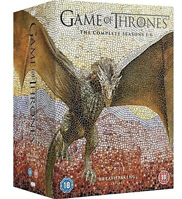 Game of Thrones: The Complete Seasons 1-6 (DVD) 30 disc set