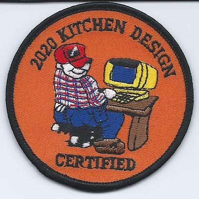 Home Depot 2020 Kitchen Design Certified Embroidered Patch New & Unused