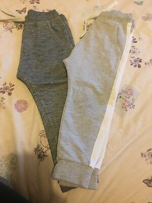 NEXT Pair Of Grey Tracksuit Bottoms For Girls Size 2-3 Years Old