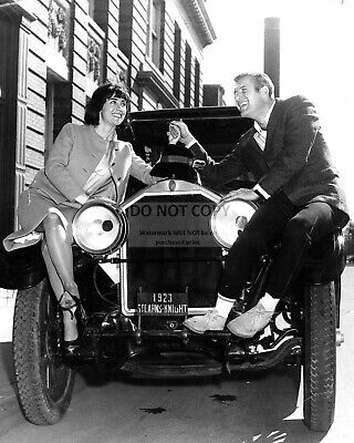 "Jerry Van Dyke In Nbc Tv Show ""my Mother The Car""  8X10 Publicity Photo (Fb-783)"