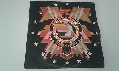 HAWKWIND  x  in search of space PROG  ISRAELI LP  RARE COVER