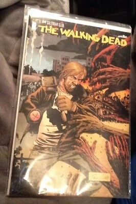 Image GO Calendar Club THE WALKING DEAD #1 EXCL LIMITED VARIANT 2017 Unread NM/M