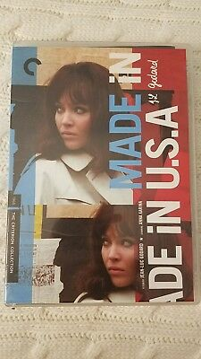 Made in usa criterion collection DVD release spine number 481 Jean-Luc Godard