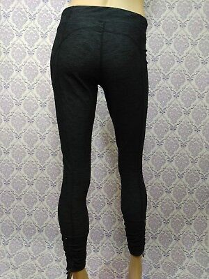 9bba59ba13 Xersion Fitted Leggings Workout Athleasure Pants Womens Size M Gray Ankle  Zip