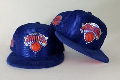 6af682b7b14930 NBA DRAFT ROYAL Blue New Era New York Knicks 9Fifty Snapback Hat ...