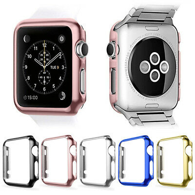 38mm/42mm Full Body Snap On Case Cover+Screen Protector For Watch Series 3/2/1