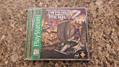 Twisted Metal 2 - Sony PlayStation PS1 1997 Video Game COMPLETE IN CASE WORKS
