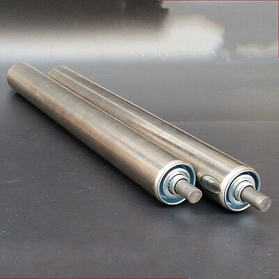 50mm DIA Stainless Steel Heavy Duty Assembly Line Conveyor Roller 800-1000mm