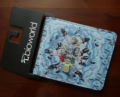 """Rick and Morty TV Series """"ALL CHARACTERS ARMED"""" Bi Fold Wallet"""