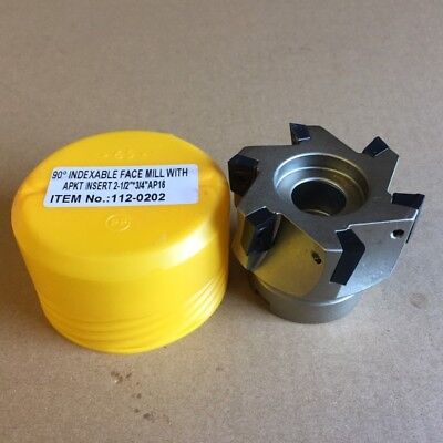4 X 1-1//2 BORE 45 Degree SE INDEXABLE FACE Mill 2065-4000