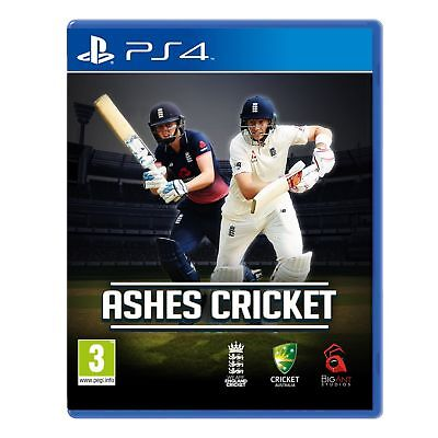 Ashes Cricket PS4 Game Brand New In Stock FROM Brisbane