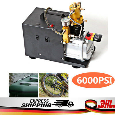 220V 40mpa Automatic Heavy PCP Pump Electric Compressor For Paintball Air Rifle