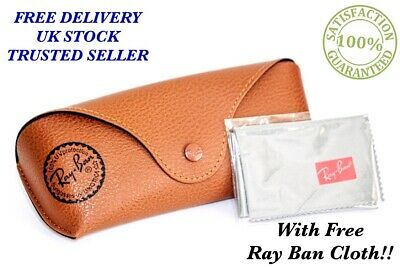 New Ray Ban Brown Sunglasses  Case & Cloth