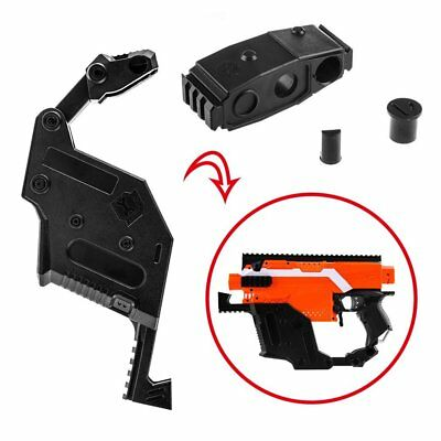 Worker Mod Kriss Vector Kit Stock Picatinny Combo 4 Items for Nerf STRYFE Toy SM