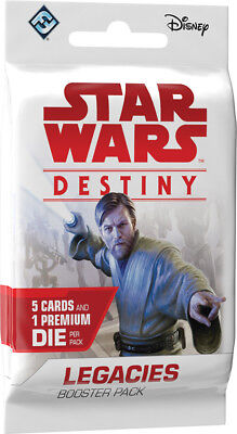 Star Wars Destiny - Legacies Booster Pack Factory Sealed Brand New 1ct FFG