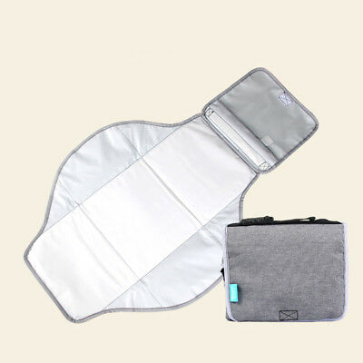 Toddler Baby Nappy Kids Diaper Changing Cover Folding Pad Urine Mat Reusable SH