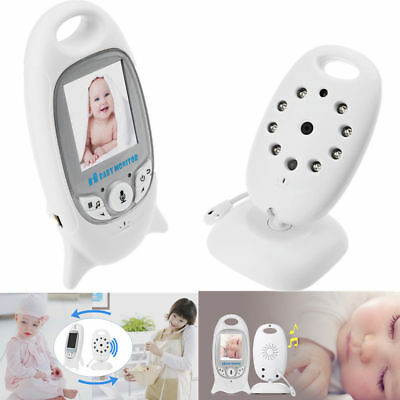 Baby Monitor LCD Display Two-way Audio Talk Night Vision Wireless Digital Video