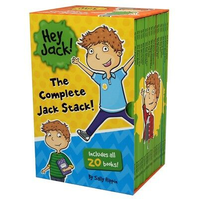 New Hey Jack The Complete Jack Stack 20 Books Box Set **Free Shipping!**