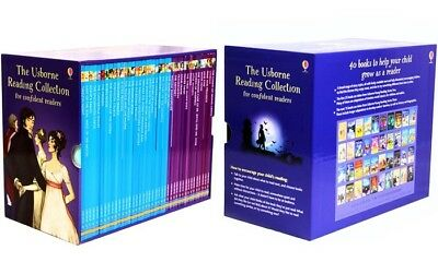 New Usborne Reading 40 Collection for Confident Readers Free Express Shipping!