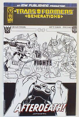 Transformers - Generations - Issue # 7 - Retailer Incentive Cover - NM/VF (235)