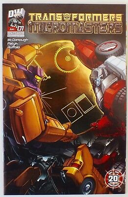Transformers - Micromasters - Issue # 1 - Foil Incentive Cover - NM/VF (242)