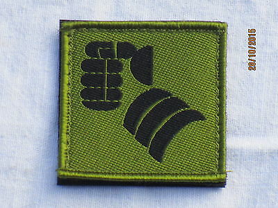 20th Armoured Brigade, (Faust) , TRF, Patch, Touch Fastener on reverse, Black/
