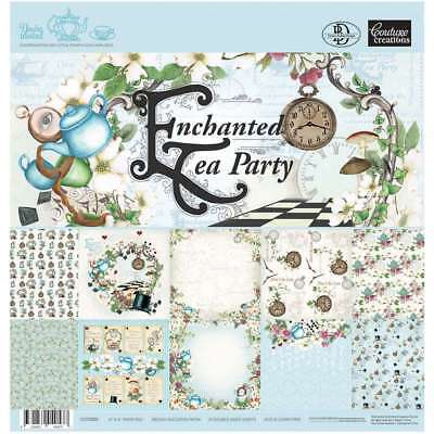 "Couture Creations Double-Sided Paper Pad 6""X6"" 24/Pkg Enchanted T 499993108525"