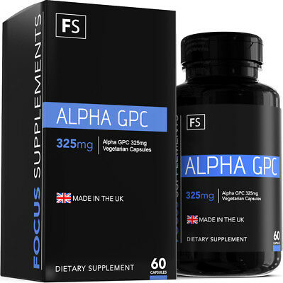 Alpha GPC  |  325mg  |  60 Capsules  |  Improve Focus, Memory and Learning
