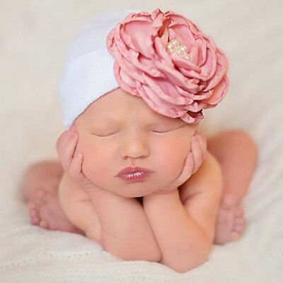 Baby Flower Hat Baby Girl Hats Colorful 5 Styles Knitting Home Keep Warm Gift
