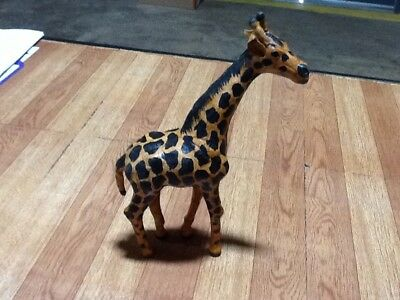 leather Wrapped Giraffe