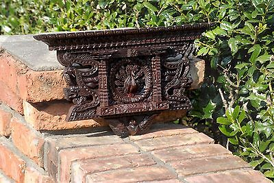 Antique-design-Wooden-hand-carved-peacock-Window-Mayur-Jhyal-nepal-handmade