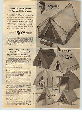 SEARS SIR EDMUND Hillary Family Dome Tent - $109 57 | PicClick