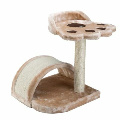 Cat SCRATCHING POST Tunnel BED Pet Scratcher Climbing Paw Comfy Kitten Play NEW