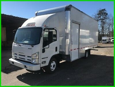 "2012 Isuzu NPR 20' x 97"" x 102"" Box, Ramp, Gas Engine, Only 116K Miles"