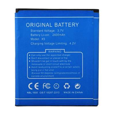 High Quality 3.7V 2400Mah Replacement Backup Li-ion Battery For Doogee X5/X5 Pro