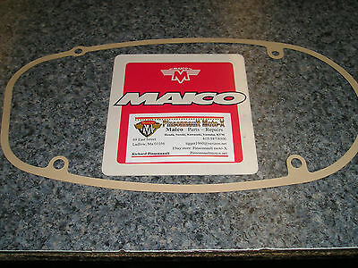 Maico clutch cover gasket - fits 75 1/2 -77 engines 250 - 440 New