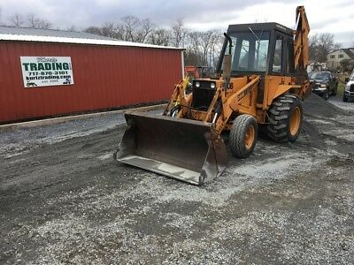 1979 Case 580B 2wd Tractor Loader Backhoe w/ Cab. Coming In Soon!