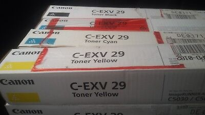 Original Canon Toner Cartridges C EXV 29