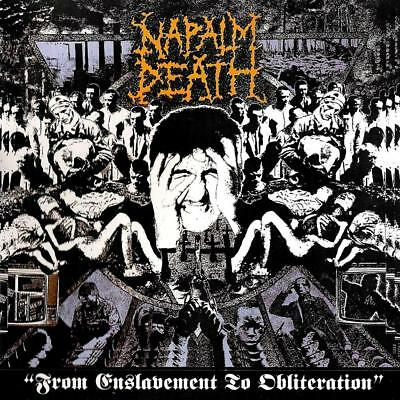 NAPALM DEATH - From Enslavement to Obliteration  LP  FDR