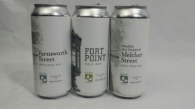 Trillium Brewing 3 Collectible Cans