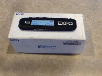 Exfo Mpc-103X Blue Tooth High Power Optical Meter