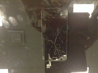 iPhone 5 5c 5s Cracked Glass Screen Repair Replacement Refurbish Service OEM