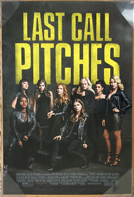 PITCH PERFECT 3 MOVIE POSTER 2 Sided ORIGINAL FINAL 27x40 ANNA KENDRICK