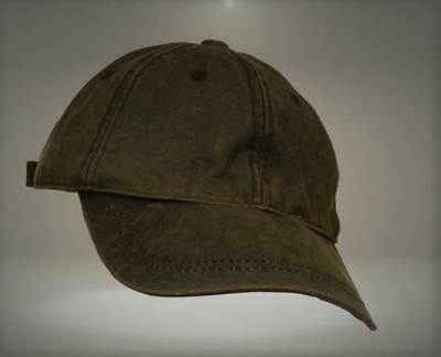 04640a632e243 San Diego Hat Co. Men s Distressed Wax Cloth Ball Cap with Adjustable Strap