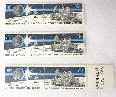 US Postage 8 Cents Stamp United States in Space A Decade of Achievement Unused