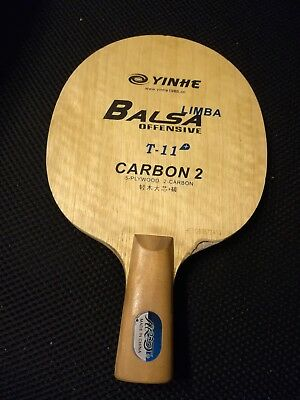 GALAXY YINHE T-11+ LIMBA BALSA OFF TABLE TENNIS BLADE cpen short handle T11