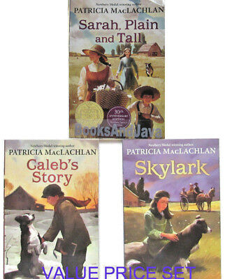 Sarah Plain and Tall,Skylark,Caleb's Story VALUE PRICE by Patricia MacLachlan