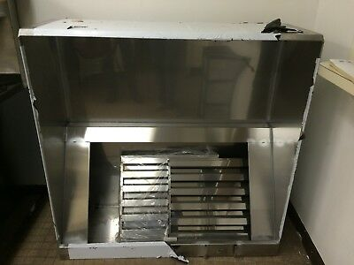 Commercial Grade Stainless Steel Gas Stove Hood