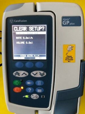 Alaris GP Plus Volumetric Infusion Pump